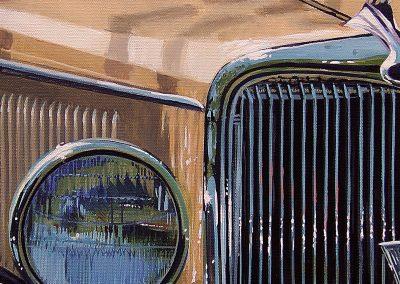 34 Ford 12 x 36 Acrylic