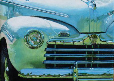 Ford  12 x 12 Acrylic